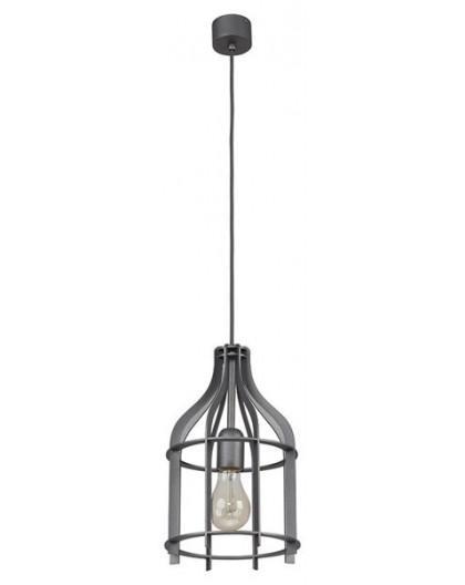 Deckenlampe Hängelampe Drahtlampe Klatka Käfig 30216