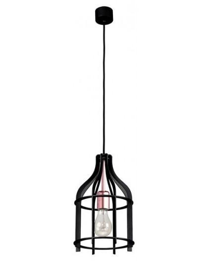 Deckenlampe Hängelampe Drahtlampe Klatka Käfig 30217