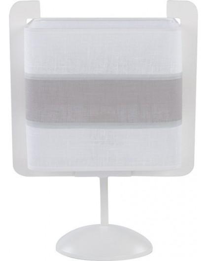 Tischlampe Nachtlampe Stoffschirm Vano 50005