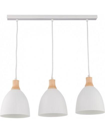 Deckenlampe Hängelampe Holz Metall LEO 3 30671