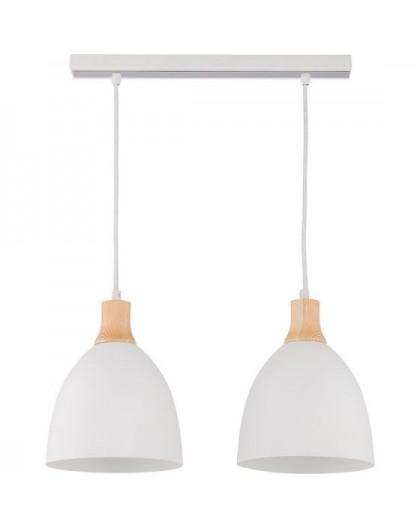 Deckenlampe Hängelampe Holz Metall LEO 2 30673