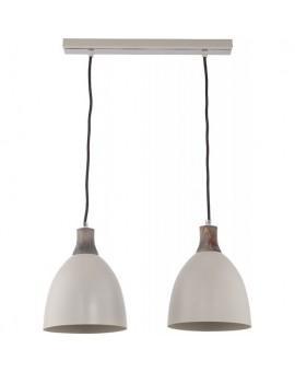 Deckenlampe Hängelampe Holz Metall LEO 2 30674