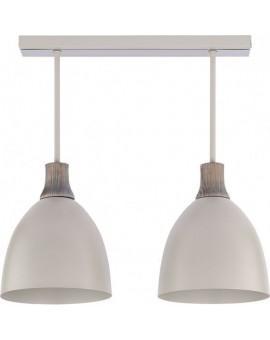 Deckenlampe Deckenleuchte Holz Metall LEO 2 30680