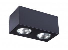 Lampa sufitowa NEX 2 CZARNY E27 32627 Sigma