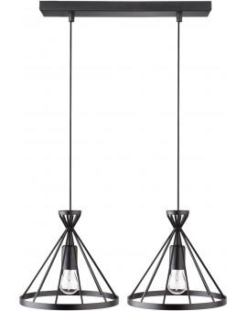 Nowum 2 Hanging lamp black 31016 Sigma
