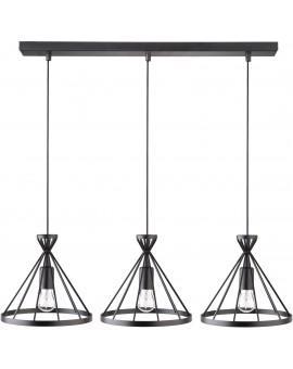 Lampa Nowum 3 zwis czarny 31021 Sigma