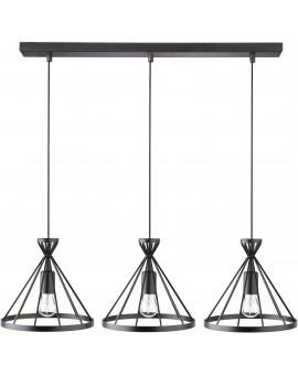 Nowum 3 Hanging lamp black 31021 Sigma