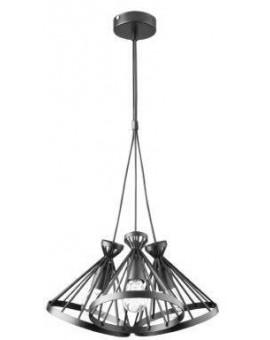 Nowum 3 Hanging lamp round black 31026 Sigma