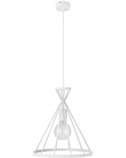 Lampa Nowum 1 zwis L biały 30889 Sigma