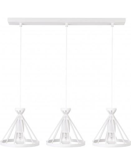 Lampa Nowum 3 zwis biały 30893 Sigma