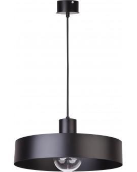 Deckenlampe Hängelampe Metall Modern Design Stahl Rif 1-flg L Schwarz 30895