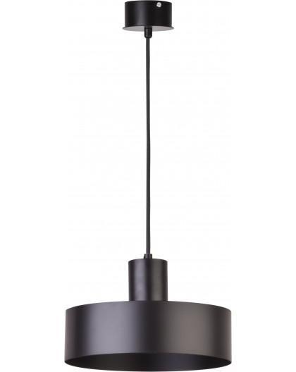 Deckenlampe Hängelampe Metall Modern Design Stahl Rif 1-flg M Schwarz 30896