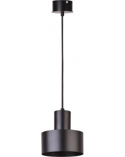 Deckenlampe Hängelampe Metall Modern Design Stahl Rif 1-flg S Schwarz 30897