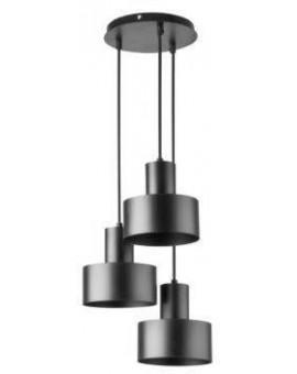 Rif 3 Hanging lamp round black 30900 Sigma