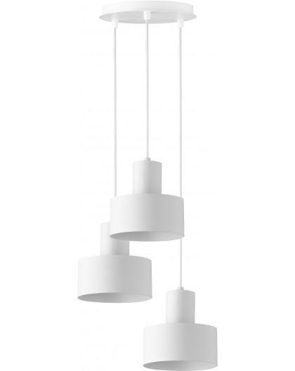Lampa Rif 3 zwis koło biały 30906 Sigma