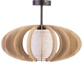 Deckenlampe Deckenleuchte Schirm Stahl Design Modern A 31321