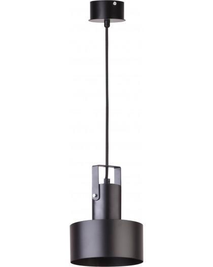 Deckenlampe Hängelampe Metall Modern Design Stahl Rif plus 1-flg Schwarz 31192