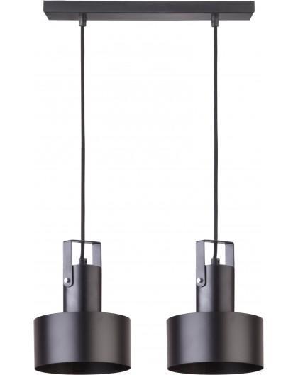 Rif plus 2 Hanging lamp black 31193 Sigma