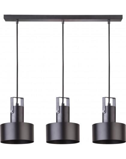 Rif plus 3 Hanging lamp black 31194 Sigma