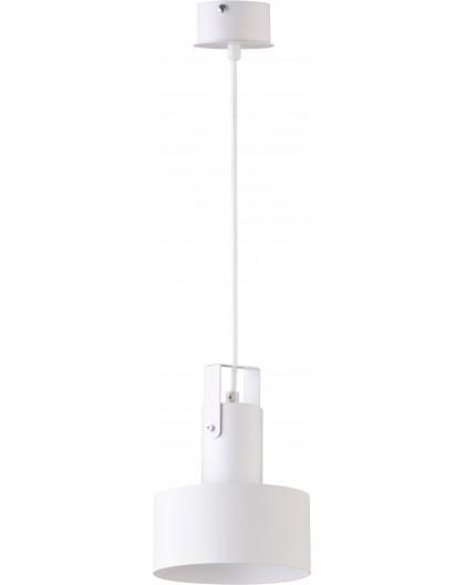 Deckenlampe Hängelampe Metall Modern Design Stahl Rif plus 1-flg Weiß 31198