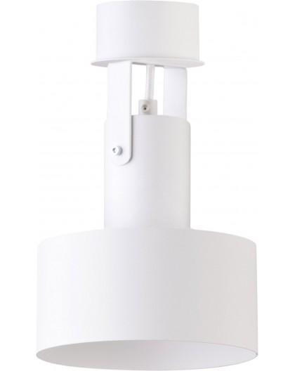 Deckenlampe Deckenspot Spot Modern Design Stahl Rif plus 1-flg Weiß 31201