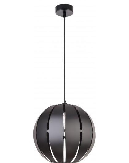 Lampa Globus prosty 1 zwis L czarny 30993 Sigma