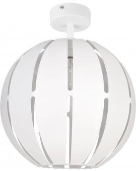 Lampa Globus prosty 1 plafon L biały 31308 Sigma