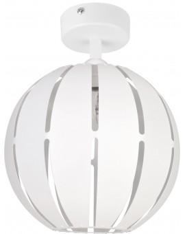 Lampa Globus prosty 1 plafon M biały 31309 Sigma