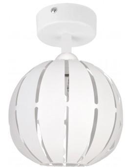 Lampa Globus prosty 1 plafon S biały 31310 Sigma