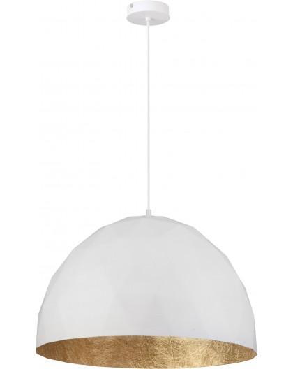 Lampa Zwis Diament L biały złoty 31369 Sigma