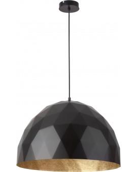 Hanging lamp Diament L black gold 31367 Sigma