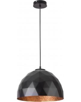 Hanging lamp Diament M black copper 31372 Sigma
