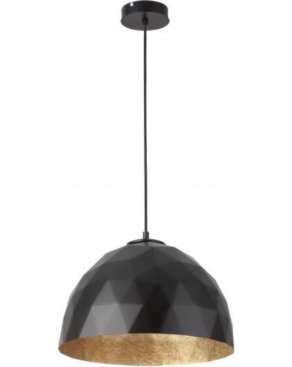 Hanging lamp Diament M black gold 31371 Sigma