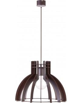 Deckenlampe Hängelampe Holzlampe Modern Design Holz Isola M Wenge 31271
