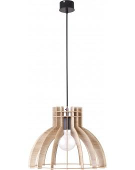 Deckenlampe Hängelampe Holzlampe Modern Design Holz hell Isola M 31269