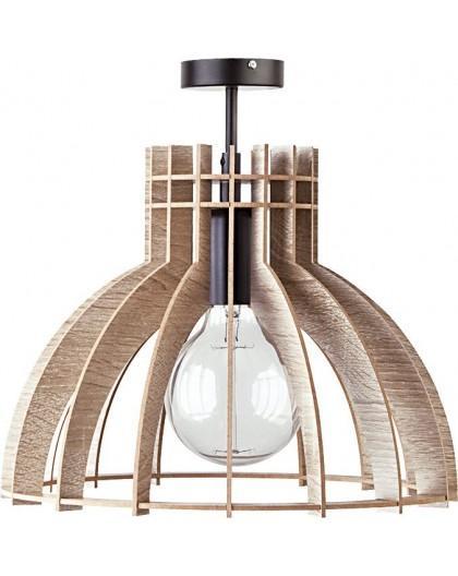 Deckenlampe Deckenleuchte Holzlampe Modern Design Holz hell Isola M 31351