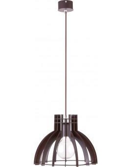 Deckenlampe Hängelampe Holzlampe Modern Design Holz Isola S Wenge 31272