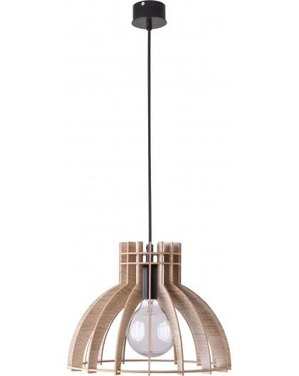 Deckenlampe Hängelampe Holzlampe Modern Design Holz hell Isola S 31270