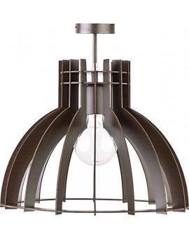 Deckenlampe Deckenleuchte Holzlampe Modern Design Holz Isola S Wenge 31354