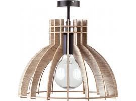 Deckenlampe Deckenleuchte Holzlampe Modern Design Holz hell Isola S 31352