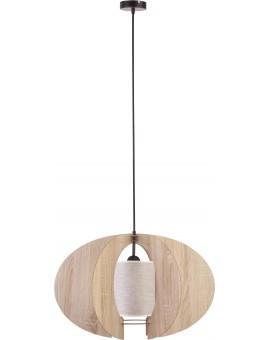 Deckenlampe Hängelampe Holzlampe Modern Design Holz hell Modern C L Beige 31329