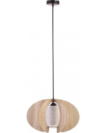 Deckenlampe Hängelampe Holzlampe Modern Design Holz hell Modern C S Beige 31331