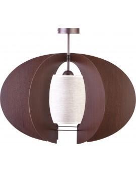 Lampe Deckenleuchte Holzlampe Modern Design Holz Modern C M Braun Wenge 31339