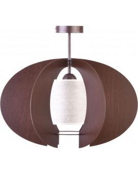Lampe Deckenleuchte Holzlampe Modern Design Holz Modern C S Braun Wenge 31340