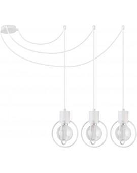 Hanging lamp Aura round 3 white mat podwieszana 31096 Sigma