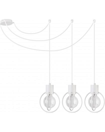 Lampa Zwis Aura koło 3 biały mat podwieszana 31096 Sigma