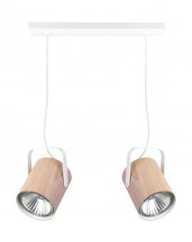 Hanging lamp FLESZ E27 oak 2 31650 SIGMA