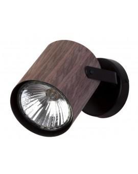 Lampe Deckenlampe Deckenleuchte Spot Leiste FLESZ E27 Wenge 1-flg 31645