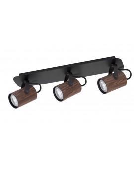 Lampe Deckenlampe Spot Leiste Strahler KAMERA FORNIR Wenge 3-flg 32991