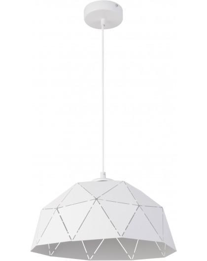 Deckenlampe Hängelampe Design Modern Muster Lichteffekt ORIGAMI Weiß S 31613